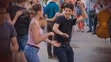 Mezőségi flashmob a Móricz Zsigmond körtéren